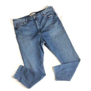 Asos denim skinny jeans with stretch size 18